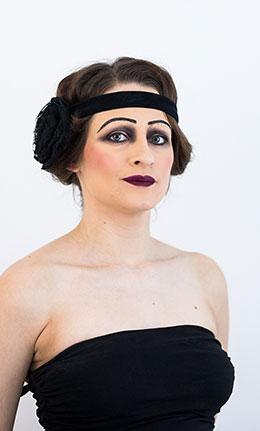 1920-luku, meikki ja kampaus