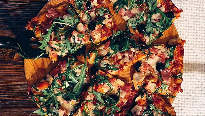 Herkullinen pizza