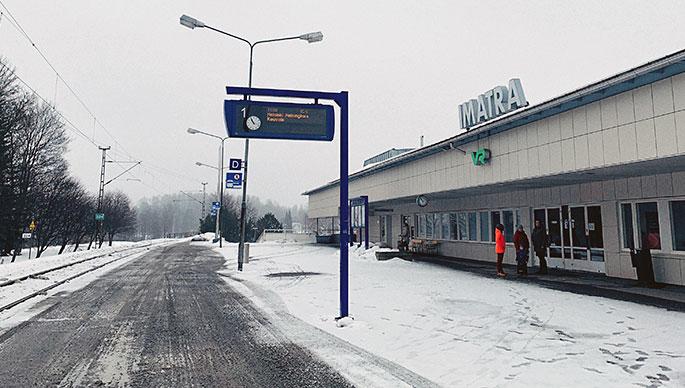 Imatran juna-asema