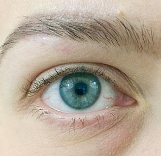 Silmä, ei meikkiä
