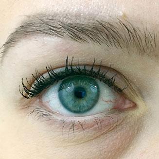 Silmä, rajaus ja mascara